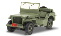 Modellauto - <strong>Willys</strong> MB, U.S. Army, M*A*S*H (TV-Serie, 1972-83), Army Brigadier General, 1942<br /><br />Greenlight, 1:43<br />Nr. 249387