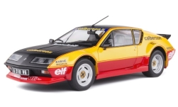 Modellauto - <strong>Alpine Renault</strong> A310 Pack GT, orange, Calberson Evocation, 1983<br /><br />Solido, 1:18<br />Nr. 249442