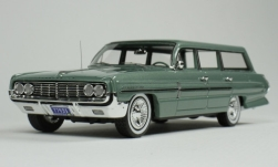 Modellauto - <strong>Oldsmobile</strong> Dynamic Fiesta Wagon, metallic-grün, 1962<br /><br />Goldvarg Collections, 1:43<br />Nr. 249635