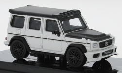 Modelcar - <strong>Mercedes</strong> AMG G 63 Liberty Walk, white/matt-black, 2018<br /><br />Para64, 1:64<br />No. 250136