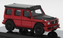 Modelcar - <strong>Mercedes</strong> AMG G 63 Liberty Walk, red/matt-black, 2018<br /><br />Para64, 1:64<br />No. 250140