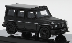 Modelcar - <strong>Mercedes</strong> AMG G 63 Liberty Walk, black/matt-black, 2018<br /><br />Para64, 1:64<br />No. 250142
