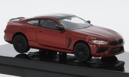 Modelcar - <strong>BMW</strong> M8 Coupe (F92), metallic-dunkelorange/black<br /><br />Para64, 1:64<br />No. 250153