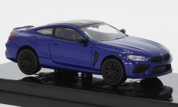 Modelcar - <strong>BMW</strong> M8 Coupe (F92), metallic-blue/black<br /><br />Para64, 1:64<br />No. 250154