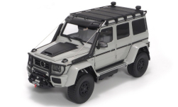 Modellino - <strong>Brabus</strong> 550 Adventure, grigio/opaco-nero, Basis: MB G 500 4x4<br /><br />Almost Real, 1:18<br />n. 250522