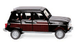 Modellauto - <strong>Renault</strong> 4 Parisienne, schwarz/dunkelrot, 1964<br /><br />Wiking, 1:87<br />Nr. 250731