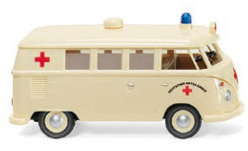 Modellauto - <strong>VW</strong> T1 Bus DRK - Deutsches Rotes Kreuz, 1963<br /><br />Wiking, 1:87<br />Nr. 250732