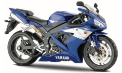 Modellauto - <strong>Yamaha</strong> YZF-R1, blau/weiss<br /><br />Maisto, 1:12<br />Nr. 251142