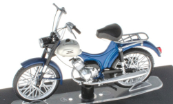 Modellauto - <strong>Moto Guzzi</strong> Dingo, blau/weiss<br /><br />SpecialC.-117, 1:18<br />Nr. 251195