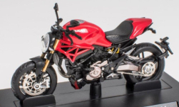 Modellauto - <strong>Ducati</strong> Monster 1200 S, rood, 2014<br /><br />SpecialC.-118, 1:24<br />Nr. 251219