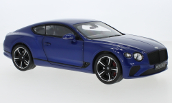Modellino - <strong>Bentley</strong> continental GT, metallic-blu, 2018<br /><br />Norev, 1:18<br />n. 251269
