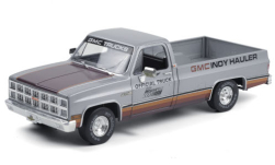 Modellauto - <strong>GMC</strong> Sierra Classic 1500, Indianapolis 500, 65th Annual Indianapolis 500 Mile Race Official Truck, 1981<br /><br />Greenlight, 1:18<br />Nr. 251337