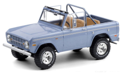 Modellauto - <strong>Ford</strong> Bronco Sport, metallic-hellblau, 1969<br /><br />Greenlight, 1:18<br />Nr. 251346