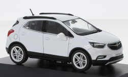 Modellauto - <strong>Vauxhall</strong> Mokka X, metallic-weiss, RHD<br /><br />I-iScale, 1:43<br />Nr. 251377