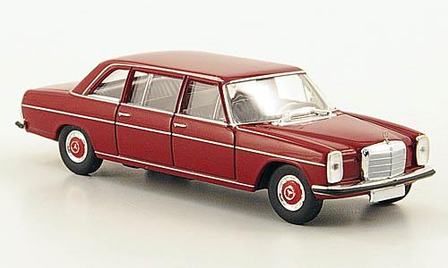 V115 STARMADA by BREKINA Modell 1:87//H0 Mercedes 220 D lang rot #13402