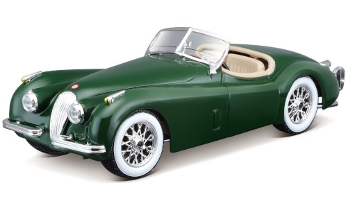 Modelcar - <strong>Jaguar</strong> XK 120 Roadster green, 1948<br /><br />Bburago, 1:24<br />No. 235520