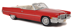Exclusively at Model Car World: Cadillac de Ville Convertible by BoS-Models in 1:43-Scale