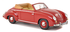 VW Dannenhauer und Stauss Convertible in 1:43-Scale exclusively at Model Car World