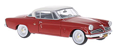 Studebaker Commander Starliner by BoS-Models in 1:43