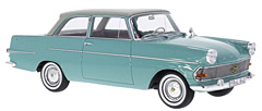 Exclusively at Model Car World: Opel Rekord P2 by BoS-Models in 1:18-Scale