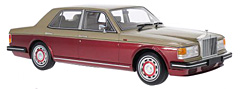 Imposing Rolls Royce Silver Spirit in 1:18-Scale exclusively at Model Car World