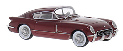 Chevrolet Corvette Corvair Concept by BoS-Models in 1:43-Scale exclusively at Model Car World