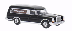 Mercedes 600 Pollmann hearse by BoS-Models in 1:87