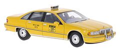 Worldknown Chevrolet Caprice Sedan, New York Taxi by BoS-Models in 1:43