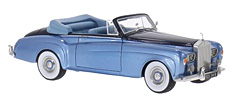 Imposing Rolls Royce Silver Cloud III DHC in 1:43-Scale by BoS-Models