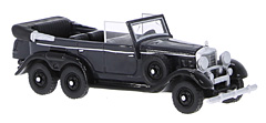 Mercedes G4 (W31) in 1:87-Scale by BoS-Models now available in black colourway