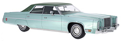 Exclusive: Chrysler Imperial Le Baron 4-Door Sedan by BoS-Models in 1:18-Scale