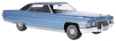 Now available in blue: 1972 Cadillac Coupe de Ville in 1:18-Scale by BoS-Models