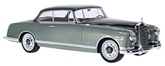 Exclusively at Model Car World: Mercedes 300B Pininfarina in 1:18-Scale by BoS-Models
