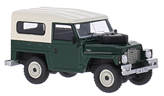 Land Rover Series III Lightweight in 1:43-Scale by BoS-Models