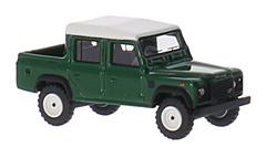 Land Rover Defender 110 Double Cab Pick Up in 1:87-Scale by BoS-Models