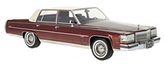1982 Cadillac Fleetwood Brougham by BoS-Models in 1:18-Scale