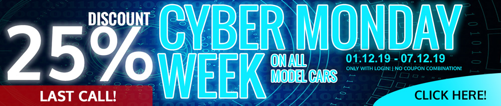 25% Discount Cyber Monday Week MCW