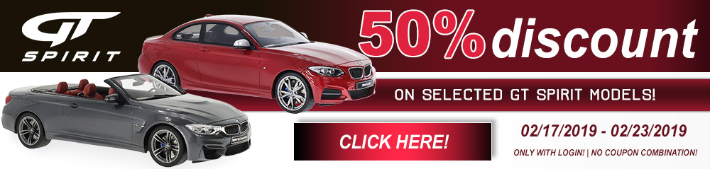 50% discount on selected GT Spirit models!?t=1550552173