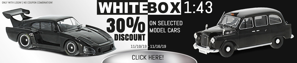 30% Discount on selected Whitebox models 1:43?t=1573758474