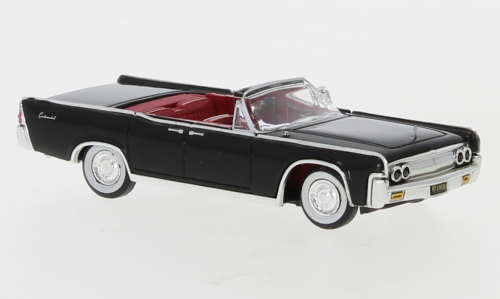 Lincoln Continental Convertible, schwarz