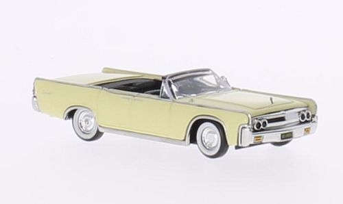 Lincoln Continental Convertible, hellgelb
