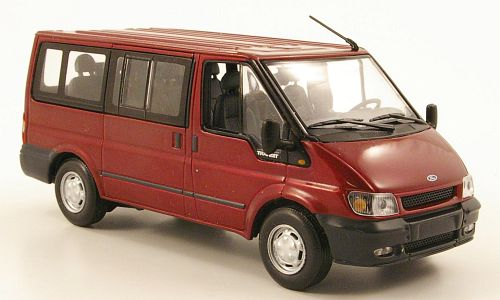 Ford Transit Bus Tourneo, metallic-dunkelrot