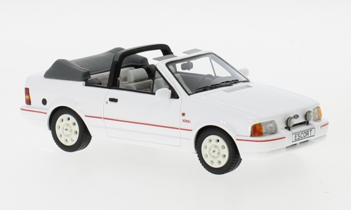 Ford Escort MKIV XR3i Cabriolet, weiss