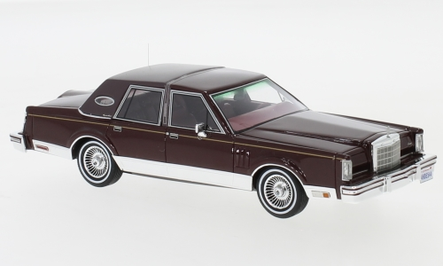 Lincoln Continental Mark VI Signature Series, metallic-dunkelrot
