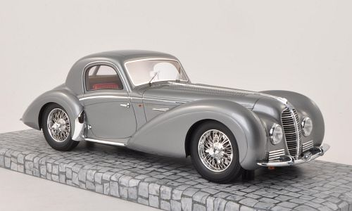 Delahaye Type 145 V-12 Coupe, metallic-grau, RHD