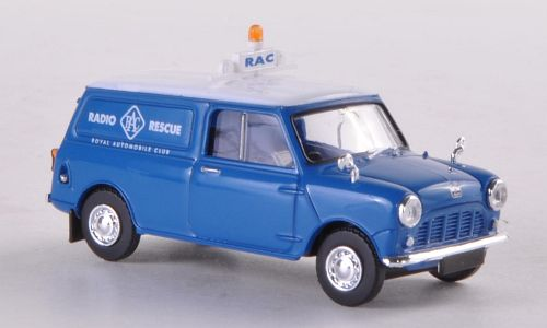 Austin Mini Van, RAC Radio Rescue
