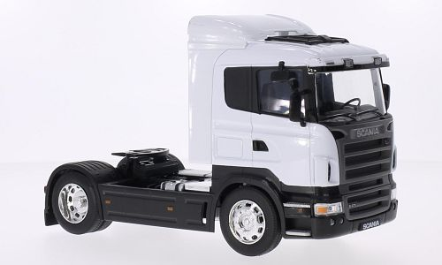 Scania R470, weiss