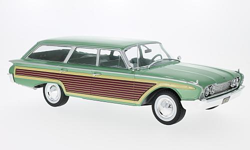 Ford Country Squire, metallic-hellgrün/Holzoptik