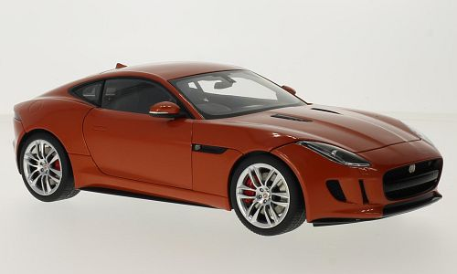 Jaguar F-Type R Coupe, metallic-dunkelorange, RHD