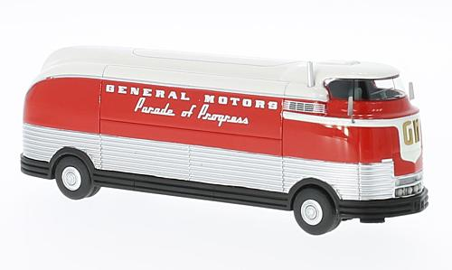 GM Futurliner, rot/weiss, GM Parade of Progress